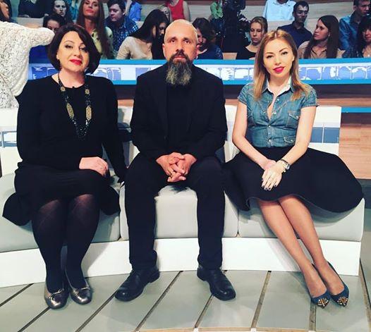 Экстрасенс Дульский на телешоу   ( Говорить Украина )
